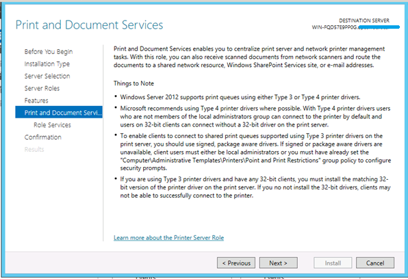 windows server 2012 roles and features pdf